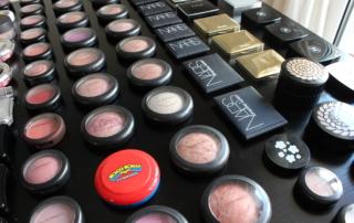 Beauty blogger blush stash