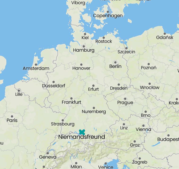 Niemandsfreund in Baden-Württemberg, Germany