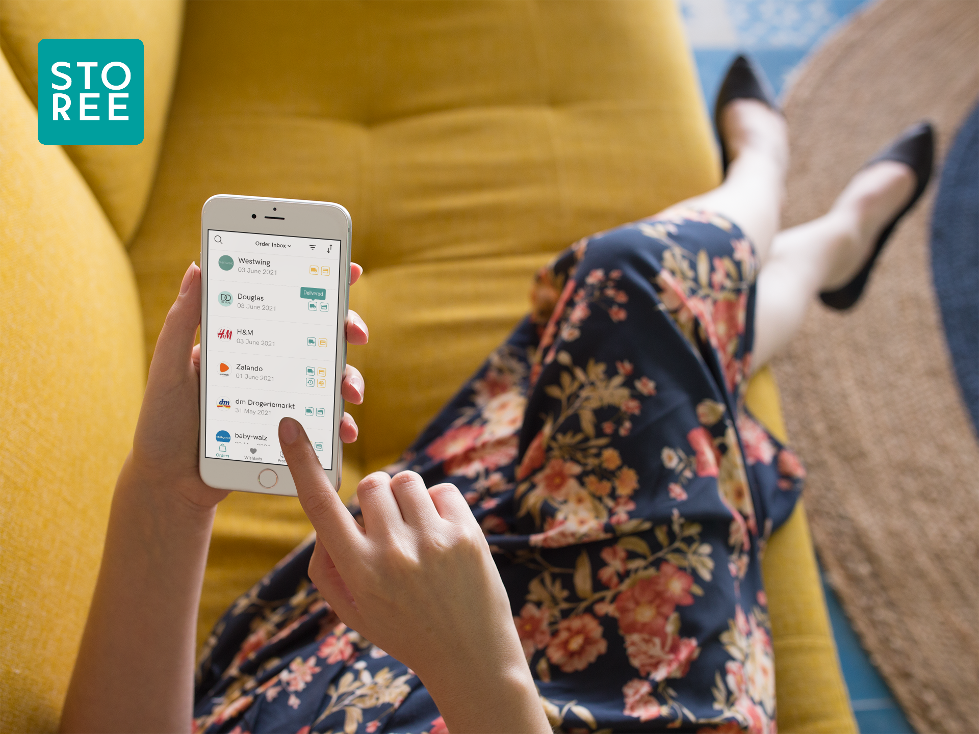 STOREE - All your online purchases at your fingertips